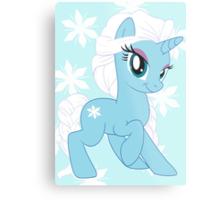 Pony Elsa Metal Print