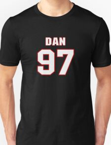 NFL Player Dan Fox ninetyseven 97 T-Shirt