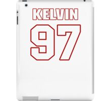NFL Player Kelvin Sheppard ninetyseven 97 iPad Case/Skin