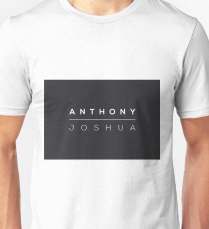Anthony Joshua logo Unisex T-Shirt