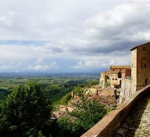 View from Montepulciano by redmgb