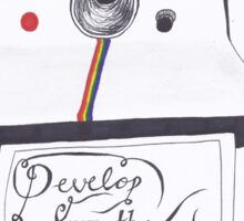 Develop From the Negatives Sticker