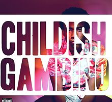 Childish Gambino Because the Internet Design by Louis Malouf
