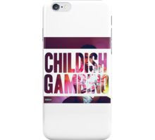 Childish Gambino Because the Internet Design iPhone Case/Skin