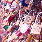Paris Love Locks by anniephoto