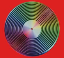 Vinyl LP Record - Metallic - Rainbow Kids Clothes