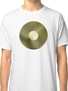 Vinyl LP Record - Metallic - Gold Classic T-Shirt
