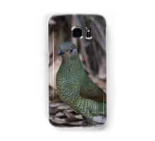 Female Bower Bird Samsung Galaxy Case/Skin