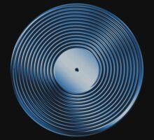 Vinyl LP Record - Metallic - Blue T-Shirt