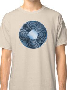 Vinyl LP Record - Metallic - Blue Classic T-Shirt