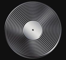 Vinyl LP Record - Metallic - Steel by graphix