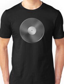 Vinyl LP Record - Metallic - Steel Unisex T-Shirt