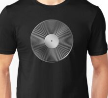 Vinyl LP Record - Metallic - Steel Unisex T-Shirt