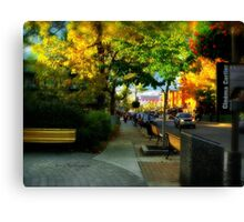 Avenue Cartier - Quebec City Canvas Print