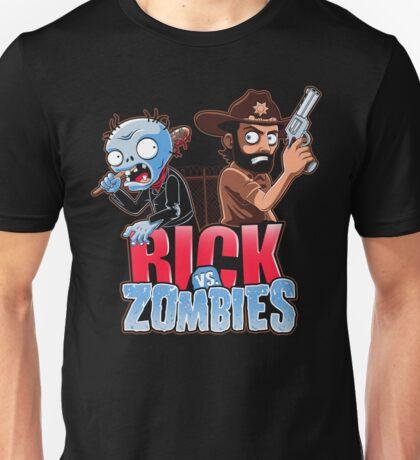 Rick vs Zombies Unisex T-Shirt