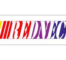 Redneck Nascar Fans Sticker