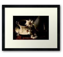 More Coffee, Anyone?? Framed Print