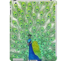 Colorful Peacock Painting Art iPad Case/Skin