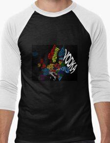 Drink Map - Europe Men's Baseball ¾ T-Shirt