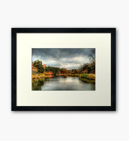 Before The Rain Framed Print