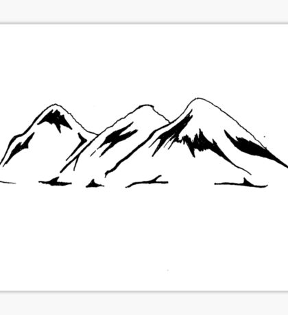 Mountains (Horizontal) Sticker