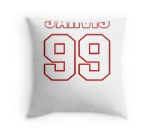 NFL Player Jarvis Jenkins ninetynine 99 Throw Pillow