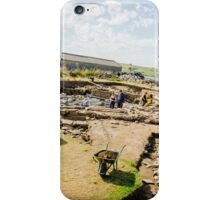 Ness of Brodgar Archaeological Dig iPhone Case/Skin