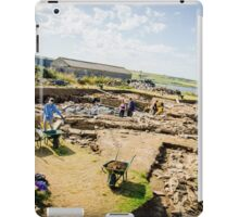 Ness of Brodgar Archaeological Dig iPad Case/Skin
