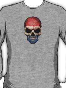 Dutch Flag Skull T-Shirt