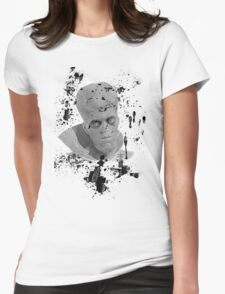To Serve Man-Twilight Zone Womens Fitted T-Shirt