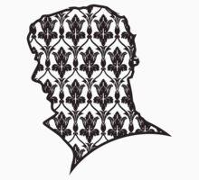Sherlock - 221b Wallpaper T-Shirt