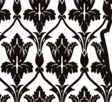 Sherlock - 221b Wallpaper Sticker
