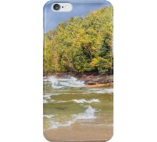 Autumn at Miners Beach, Pictured Rocks National Lakeshore iPhone Case/Skin