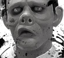 Pig Faced Sticker