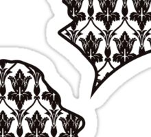 Sherlock Portraits - Wallpaper design Sticker