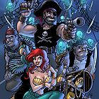 Trader Jack and Mermaid Molly by traderjacks