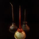 Oil Can Trio by Barbara Morrison