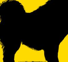 Samoyed Crossing Sticker