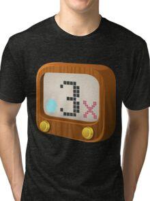 Glitch Music Blocks musicblock x shiny 03 Tri-blend T-Shirt