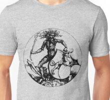 Medieval Wild Man or Green Man Unisex T-Shirt