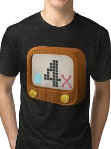 Glitch Music Blocks musicblock x shiny 04 Tri-blend T-Shirt