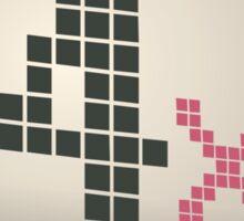 Glitch Music Blocks musicblock x shiny 04 Sticker