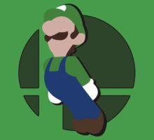 Smash Bros: Luigi by megaoctipoosh