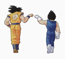 """Bros"" Goku and Vegeta Fist Bump Kids Clothes"