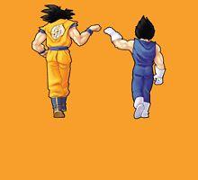 """""""Bros"""" Goku and Vegeta Fist Bump T-Shirt"""