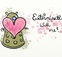 Dalek Valentine by LadyElizabeth