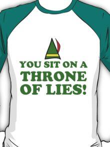 CHRISTMAS THRONE ELF T-Shirt