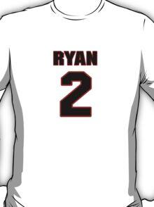 NFL Player Matt Ryan two 2 T-Shirt