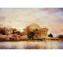 Jefferson Memorial Just Past Dawn Photographic Print