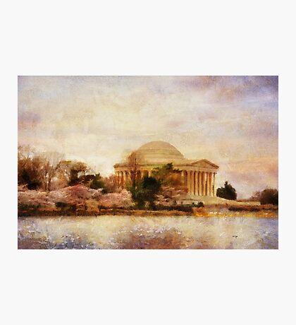 Jefferson Memorial Just Past Dawn Photographic Print
